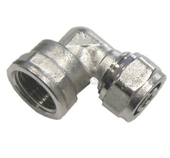 """Коляно Ф20х1/2"""" ЖЕНСКО за тръба с алуминиева вложка"""