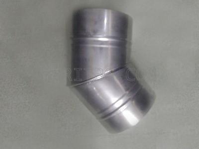 Кюнец коляно ф 150/45 Неръждаема ламарина