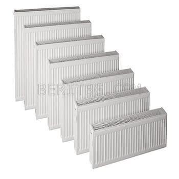 Панелни радиатори тип 22, 500/2000-3950W