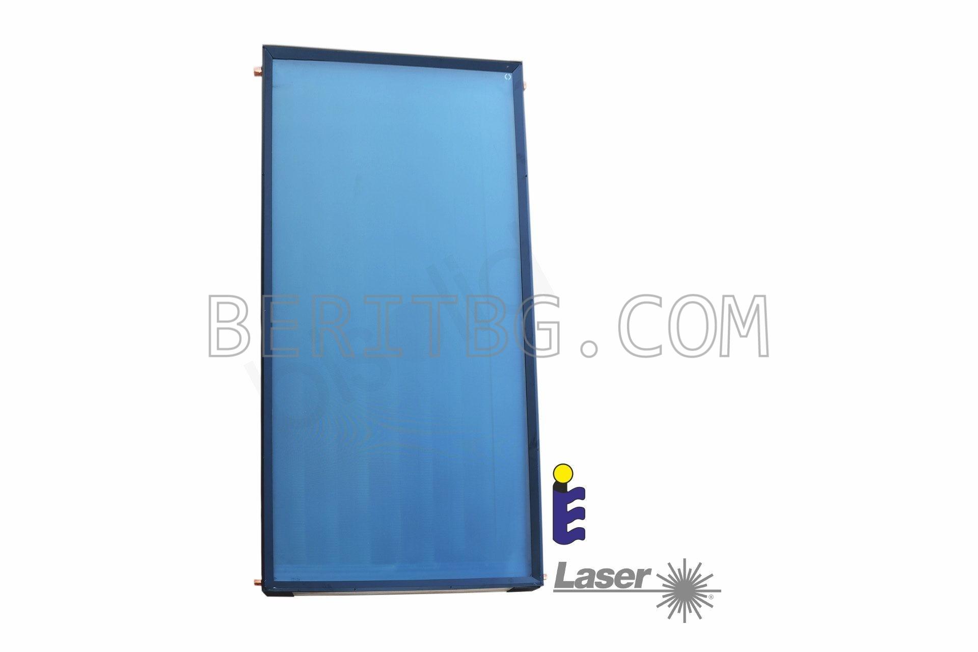Слънчев колектор Bisolid Sigma PLUS, селективен, 1.5 m2, Blue